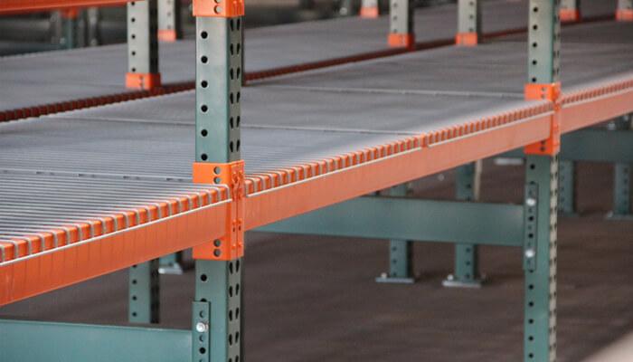 tube rack pallet rack