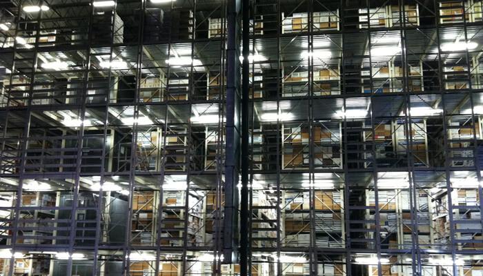 archive storage racking